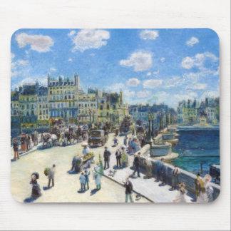 Le Pont-Neuf, Paris Pierre Auguste Renoir painting Mouse Pad