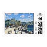 Le Pont-Neuf, Paris Pierre Auguste Renoir painting Stamps