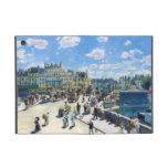 Le Pont-Neuf, pintura de París Pedro Auguste Renoi iPad Mini Carcasas