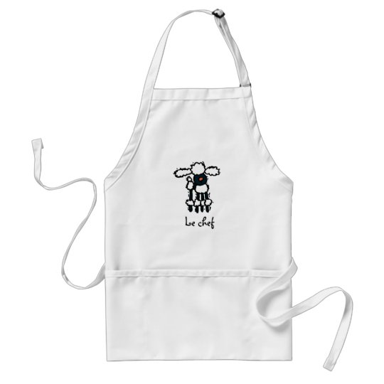 Le Poodle Chef apron