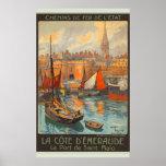 Le Port de Saint-Malo Posters