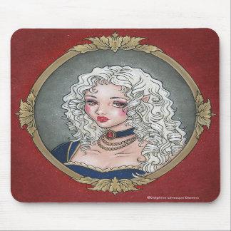 Le Portrait De La Vampiresse Gothic Mousepad