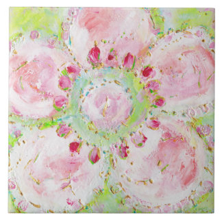Le Printemps flower Tile