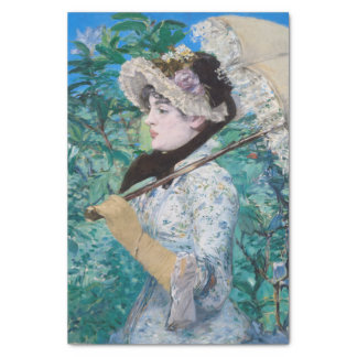 Le Printemps Manet Immpressionist Art Painting Tissue Paper