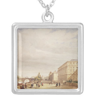 Le Quai d'Orsay, 1839 Silver Plated Necklace