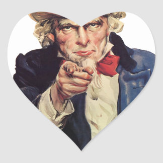Le quiero, América US/USA, TRISTE Pegatina En Forma De Corazón