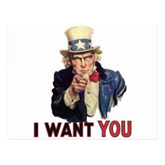 Le quiero, América US/USA, TRISTE Tarjeta Postal
