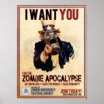 Le quiero - apocalipsis del zombi poster
