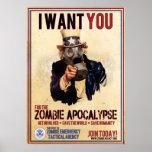 Le quiero - apocalipsis del zombi - VALOR ESTUPEND Impresiones