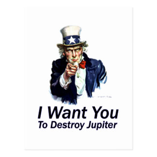 Le quiero:  Para destruir Júpiter Postal