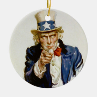 Le quiero para el ejército americano De James Mont Ornamento De Navidad
