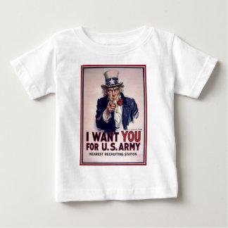Le quiero para el ejército americano t-shirt