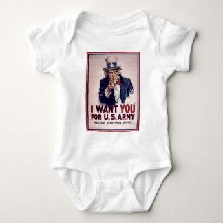 Le quiero para el ejército americano t shirts