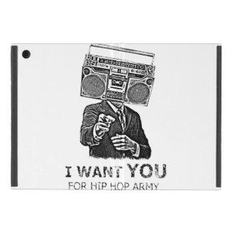 Le quiero para el ejército del hip-hop iPad mini cárcasas