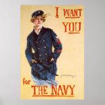 Le quiero para la marina de guerra poster