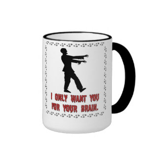 Le quiero solamente para su taza del zombi del cer
