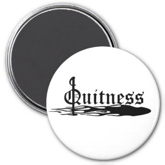 Le Quitness 3 Inch Round Magnet
