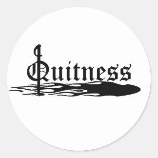 Le Quitness Etiqueta Redonda