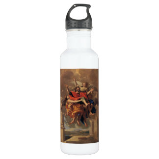 Le Ravissement de Saint Paul 1650 by Poussin 24oz Water Bottle