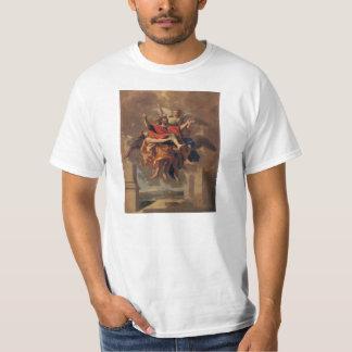 Le Ravissement de Saint Paul 1650 by Poussin Tee Shirts