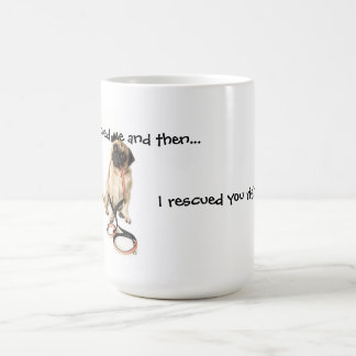 Le rescaté parte trasera derecha taza de café