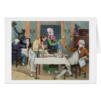 Le Restaurant, pub. by Rodwell and Martin, 1820 (c Card
