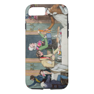 Le Restaurant, pub. by Rodwell and Martin, 1820 (c iPhone 8/7 Case