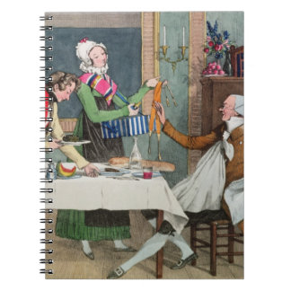 Le Restaurant, pub. by Rodwell and Martin, 1820 (c Note Books
