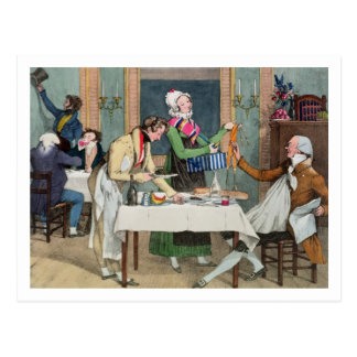 Le Restaurant, pub. by Rodwell and Martin, 1820 (c Postcard