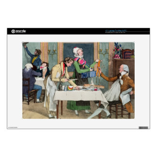 Le Restaurant, pub. by Rodwell and Martin, 1820 (c Laptop Skin