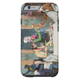 Le Restaurant, pub. by Rodwell and Martin, 1820 (c Tough iPhone 6 Case