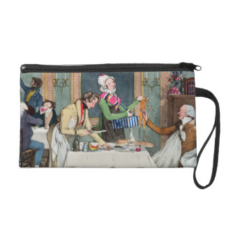 Le Restaurant, pub. by Rodwell and Martin, 1820 (c Wristlet Purse