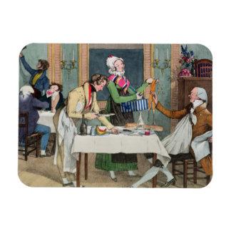 Le Restaurant, pub. por Rodwell y Martin, 1820 (c Imán De Vinilo