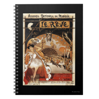 Le Reve Ballet Performance Opera House Notebook