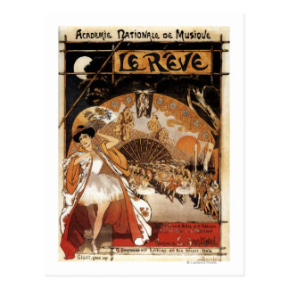 Le Reve Ballet Performance Opera House Postcards
