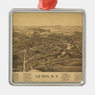 Le Roy New York (1892) Metal Ornament