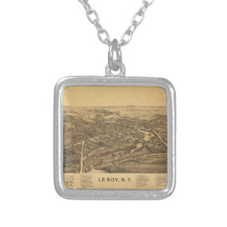 Le Roy New York (1892) Silver Plated Necklace