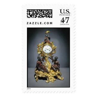 Le Roy Rococo Clock Stamp