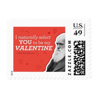 Le selecciono naturalmente ser mi tarjeta del día timbre postal
