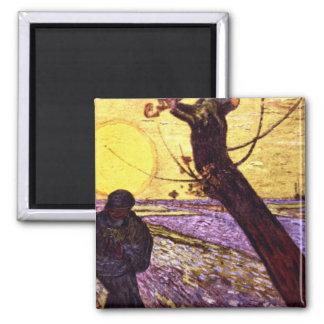 Le Semeur by Vincent van Gogh Magnet