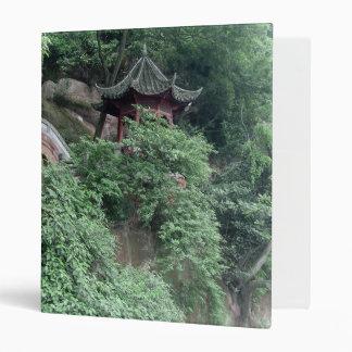 Le Shan Mountainside Buddhist Pavilion Binder