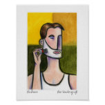 Le Shave by Lee Vandergrift Posters