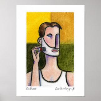 Le Shave de Lee Vandergrift Poster