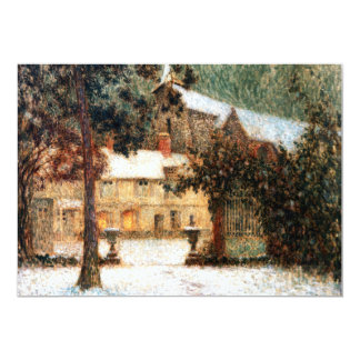 Le Sidaner: House in Snow Cards