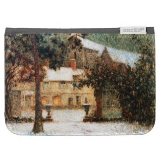 Le Sidaner: House in Snow