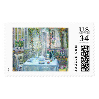Le Sidaner: Table in the Sun Postage Stamps