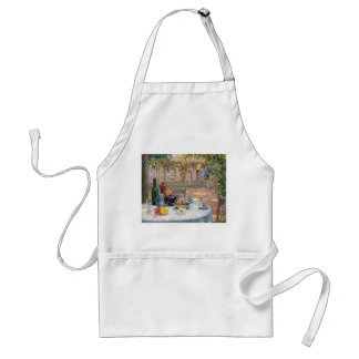 Le Sidaner: Table under Leaves in the Sun Adult Apron