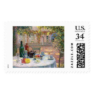 Le Sidaner: Table under Leaves in the Sun Postage Stamps