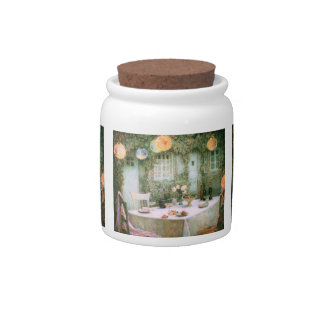 Le Sidaner: Table with Lanterns Candy Jars