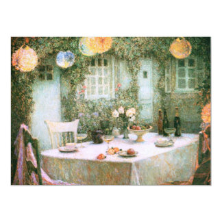 Le Sidaner: Table with Lanterns Personalized Invitation
